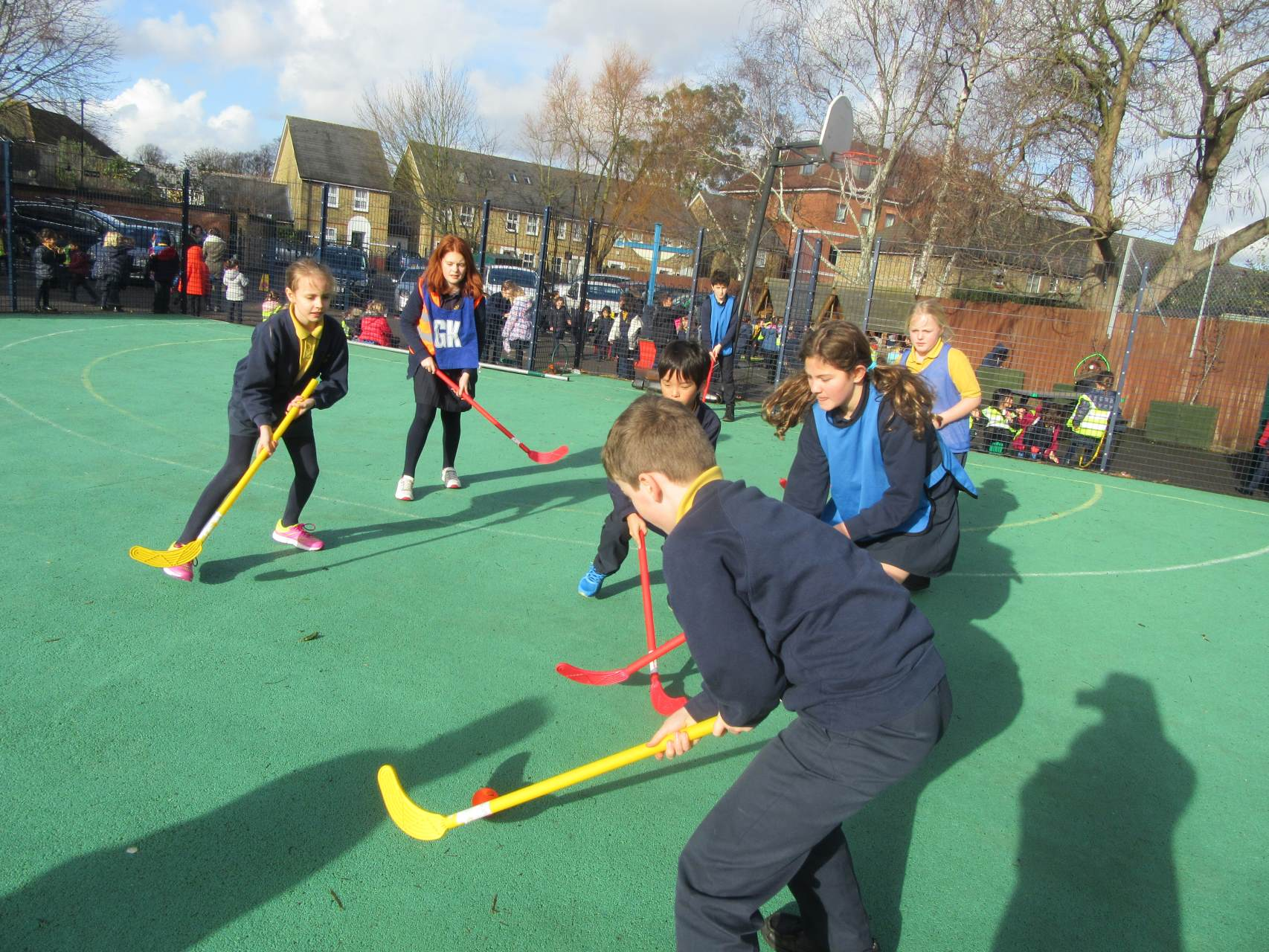 Interhouse hockey